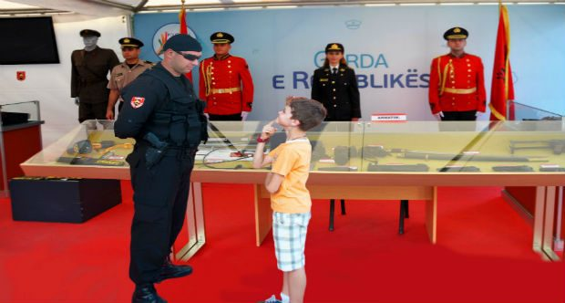 """The Exhibition """"Open Day with the Police"""""""